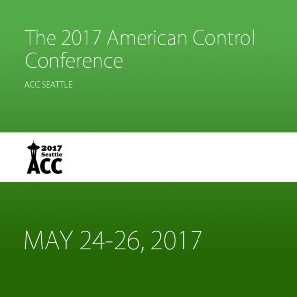 Past Event – The 2017 American Control Conference
