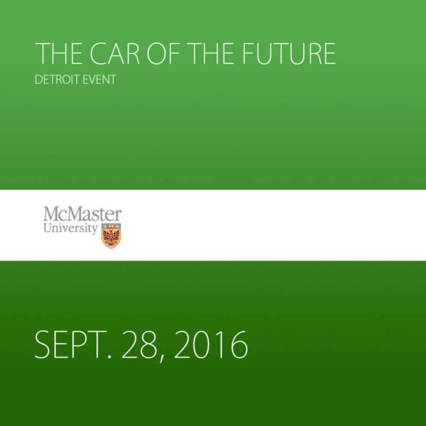 The Car of the Future – Detroit Event